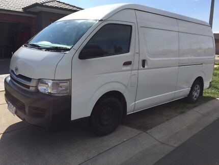 Toyota Hiace SLWB Automatic Dual Fuel Van for Sale