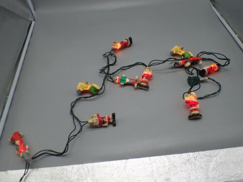10 Looney Tune Christmas String Light w/ Covers Bugs Bunny Donald