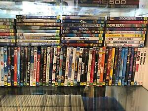 DVD MOVIES - LARGE RANGE OF FAMILY MOVIES West Croydon Charles Sturt Area Preview