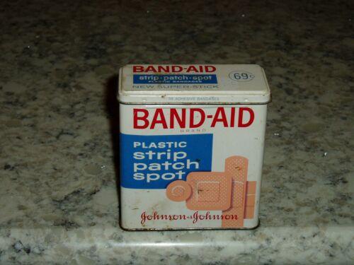 Vintage Band Aid Tin