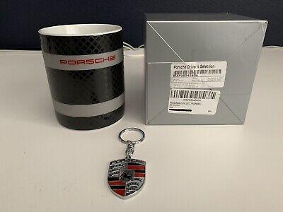 Genuine OEM Porsche Driver's Selection Racing Collection 919 Coffee Mug +Keyring
