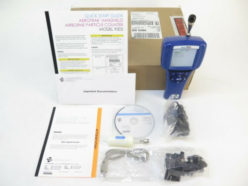 TSI 9303-01 AeroTrak Handheld Particle Counter Flow Rate: 0.1 CFM (2.83 L/min)