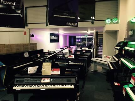 Yamaha Digital Pianos from $549 - Roland digital pianos from $999
