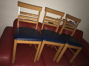 3 DINING CHAIRS each $5 Chatswood Willoughby Area Preview
