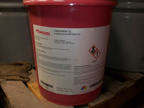 Cimguard 10 (1) 5 gal pail never opened