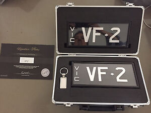 VF 2 Number Plate - Holden - SS, SSV, Calais Mont Albert North Whitehorse Area Preview