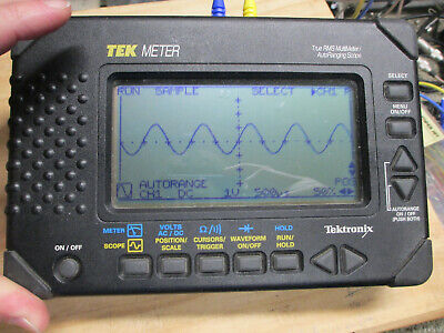 Tektronix Thm550 Portable Oscilloscope And Meter - Mint Condition - Probes
