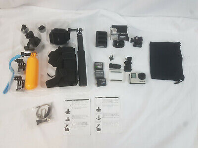 GoPro HERO4 Camera - Silver with accesories