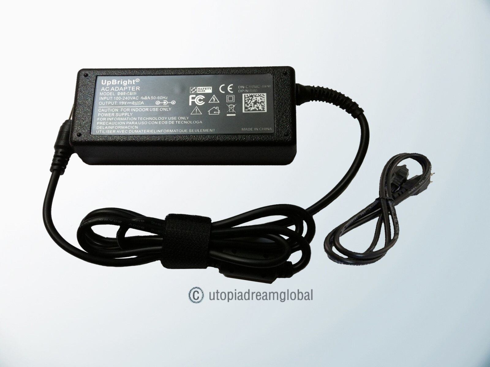 yan AC Adapter for Samsung SyncMaster S24A300B LED Monitor Power ...