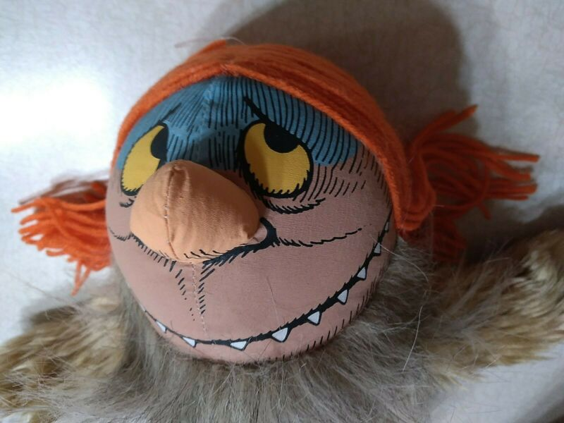 """Where The Wild Things Are Plush Stuffed Toy Sipi Doll 14"""" Warner Bros"""