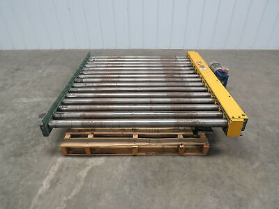 Hytrol 52w X 60l 5 Live Powered Pallet Case Roller Conveyor Qty Available