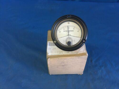 PhaOstron MR36W2T2DCUAR 631 MicroAmpreres Ammeter NSN:6625-00-816-3768
