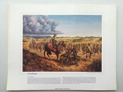 National Guard Heritage Poster; On The Border ()