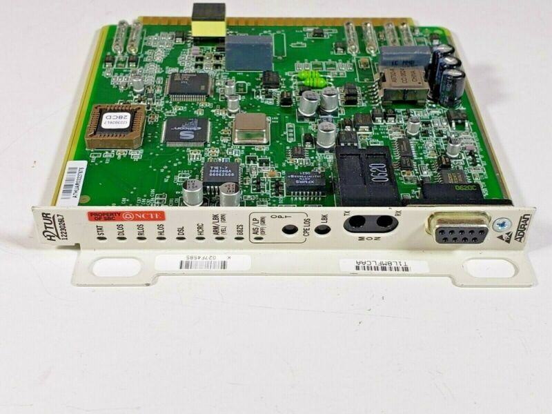 Adtran 1223026l7 H2tur Transceiver Card T1l8mflcaa - New Open Box