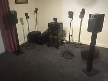 High Quality Complete 7.1 Home Theatre System Glen Forrest Mundaring Area Preview