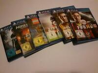 PS4 Spiele !!!6 Stück!!! Niedersachsen - Elsfleth Vorschau