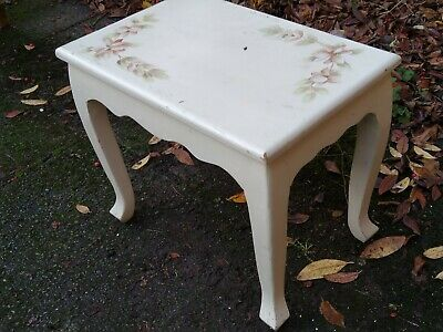 Dressing Table, Piano,Stool.with floral design.