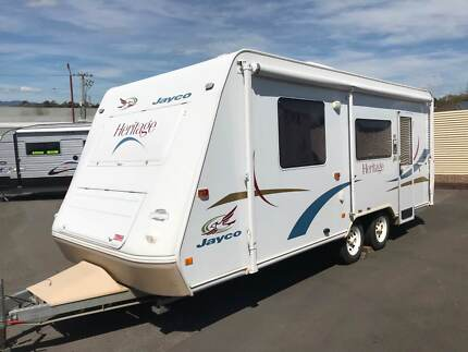 2005 Jayco Heritage Youngtown Launceston Area Preview