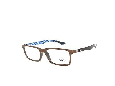 Ray Ban 8901 5612 55 Brown  Eyeglasses Rayban (Cheap Ray Ban Glasses Sale)