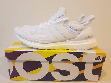 Adidas Ultra Boost 3.0 Triple White Size US 11 BRAND NEW