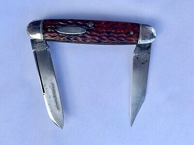 SCHRADE CUT CO WALDEN NY MOOSE KNIFE