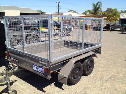 8x5 Tandem Caged Trailer from John Papas Trailers, Aust Made. Welshpool Canning Area Preview