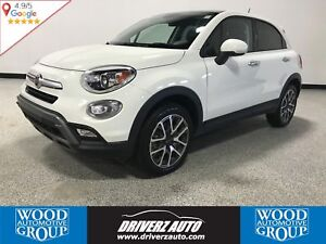 2017 Fiat 500X Trekking CLEAN CARPROOF, AWD, REMOTE START