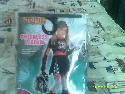 Spirit Stores Halloween Costume Cheerless Leader Child L10-12