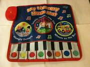 """MY NURSERY MUSIC MAT with book & keyboard mat in box - 24"""" x 24"""" Newtown Inner Sydney Preview"""