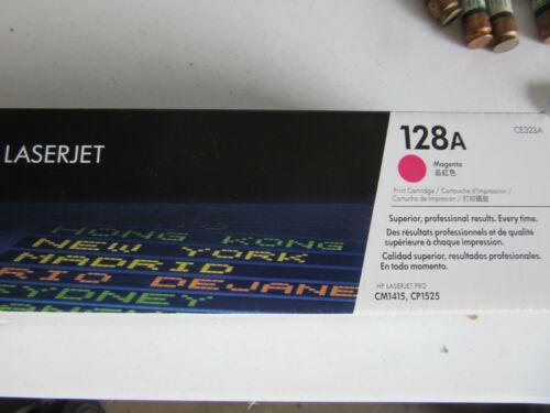 HP CE323A 128A Toner Cartridge Magenta
