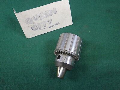 Jacobs No 34 Drill Chuck 58 Straight Shank 12