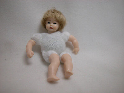 "Xmas Heidi Ott  Dollhouse Miniature 1:12 Scale Nude Lady No Wig  5.4/"" #XKF07"