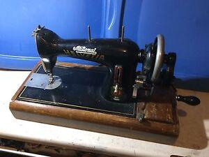 Antique sewing machine circa 1950