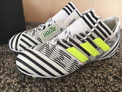Boys Adidas Nemeziz 17.1 FG Football Boots Size 4 RRP £120 3G Astro AG