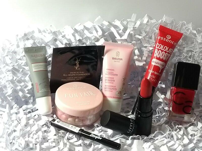 Beauty Paket 8 Teilig Lipgloss + Eye Pencil + Nagellack + Make Up ........01