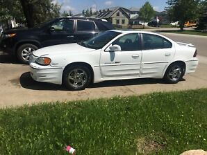 2002 Pontiac grand am 2200$ OBO