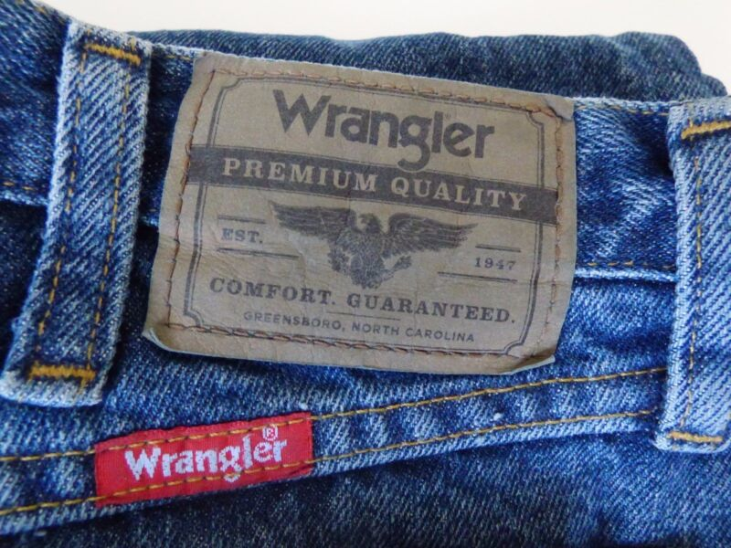 Wrangler 5-Star MENS Denim RELAXED Fit NEW with Tags 42x32 40x32 42x30