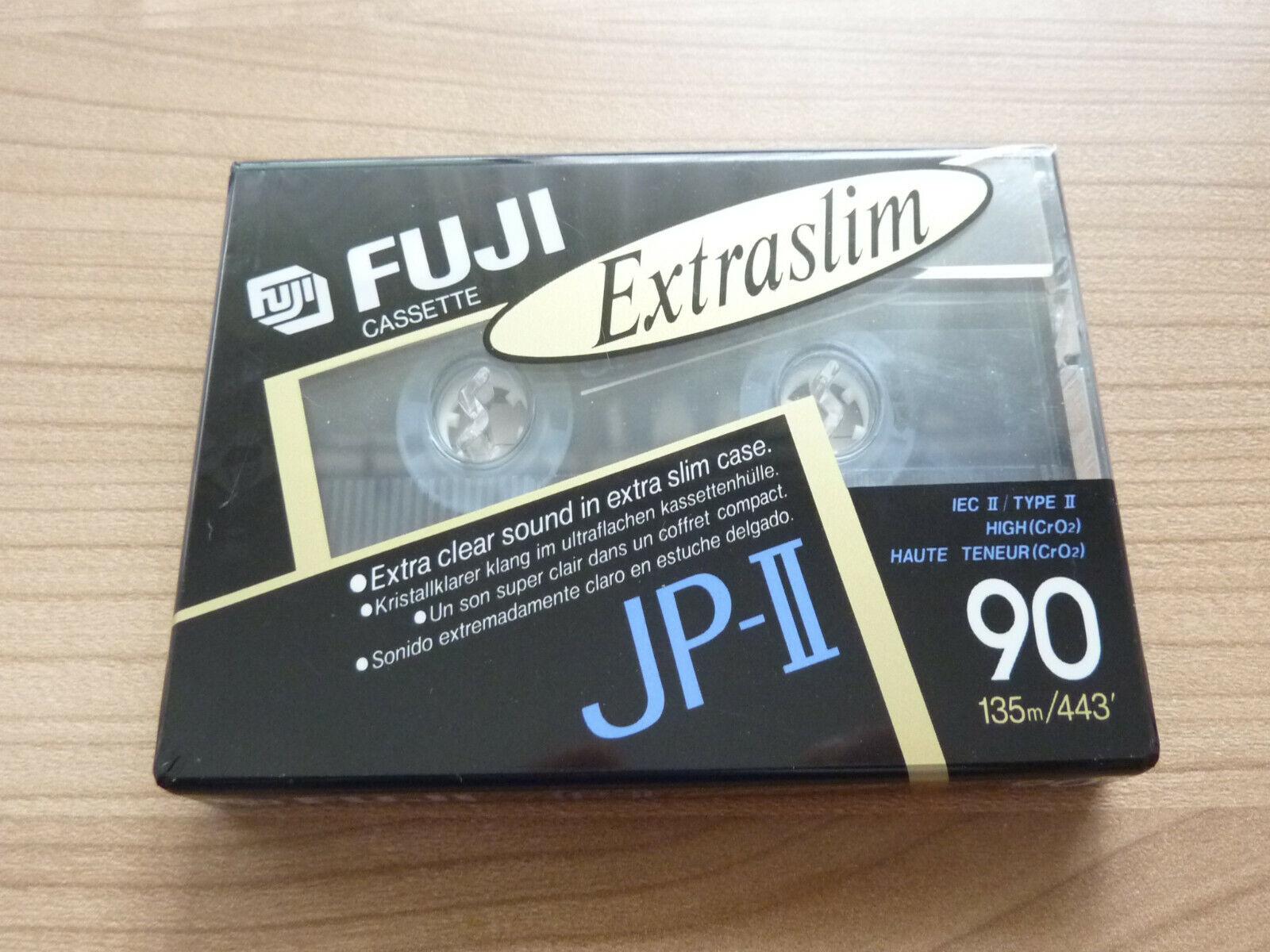 FUJI JP-II 90 audio cassette tape sealed