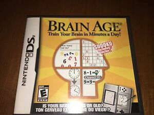 Brain Age : Train your brain in only minutes a day !
