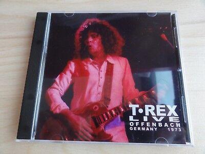 Marc Bolan & T. Rex Offenbach 1973 European The Slider tour Bowie Finn rare