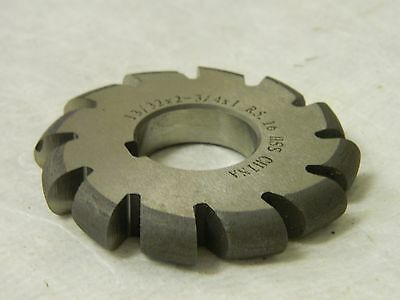 High Speed Steel Convex Radius Cutter 532 X 2-34 12 Teeth 03170214