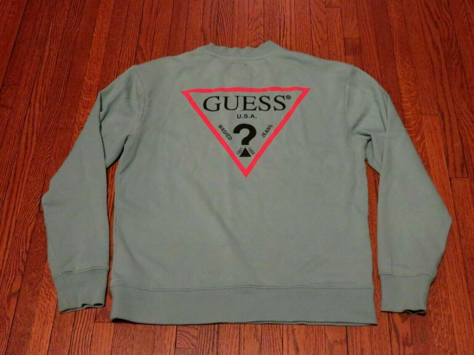 Men's Guess Jeans USA X Urban Outfitters Big Logo