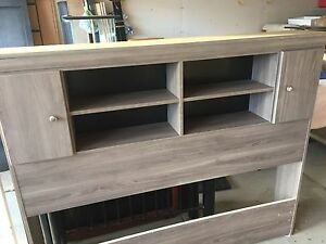 Double Storage Headboard