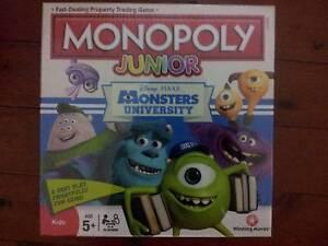 Monopoly - Monsters University Junior Edition Brisbane City Brisbane North West Preview