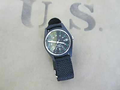 US Army Vietnam Watch Armbanduhr Mechanic Wristwatch Wind up NAM USMC Airforce 1