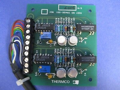 Thermco 119400-001 Tylan Soft Start Card Pcb Assy New