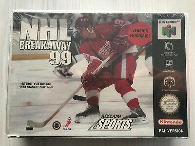 NHL BREAKAWAY 99 NINTENDO 64 N64 PAL FRA MULTI NEUF SEALED