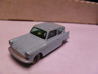 1:87 Scale- Matchbox-No. 20- Ford  Anglia- Powder Blue - NO BOX