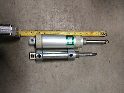 Pneumatic Air Cylinder Lot Of 2