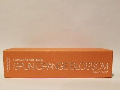 Orange Blossom Perfume Oil (Spun Orange Blossom Gap Scent Edition Perfume Oil Rollerball 0.2 oz / 7mL)